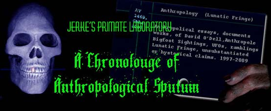 PHOTO: Banner, JERKES PRIMATE LAB, Anthropological Sputum